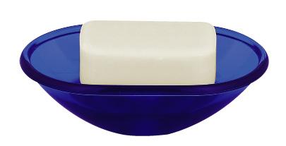 Spirella 10.06776 Toronto szappantartó kék - </b>RAKTÁRON