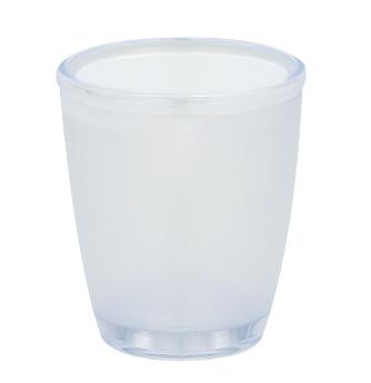 Spirella 10.06443 Toronto pohár opál/fehér - </b>RAKTÁRON
