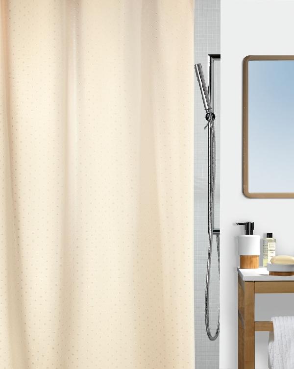 Spirella 10.43815 Ricco zuhanyfüggöny pezsgőszín