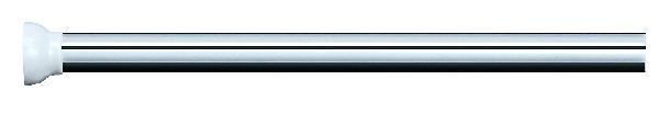 Spirella 10.50766 Magic függönytartó, alu. 75-125 cm