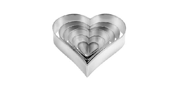 Tescoma 631362 süteménykiszúró szív 6 db