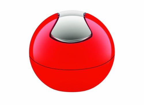 Spirella 10.14967 Bowl kozmetikai szemetes piros
