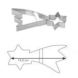 Tescoma 631116 Kiszúróforma, csillag - </b>RAKTÁRON