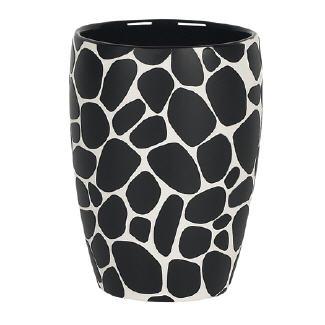 Spirella 10.14665 Darwin kavics mintás pohár fekete