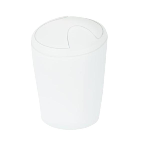 Spirella 10.09590 Move szemetes 2 literes fehér opál