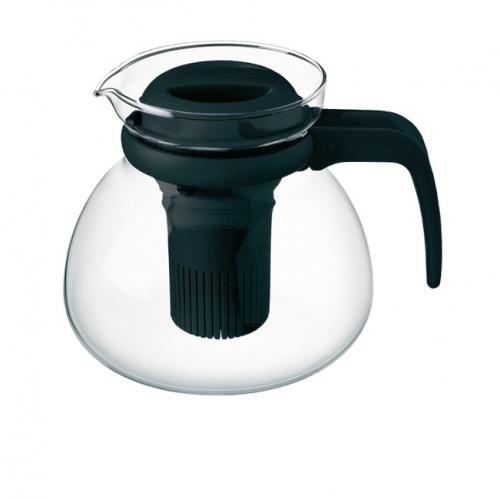 Simax 3782 Üvegkancsó,teáskanna +filtertartó 1,5 l fekete