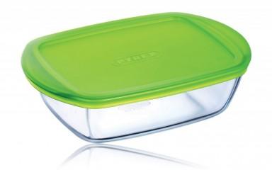 Pyrex 20121 Üvegtál + műanyag tető 1,1 l