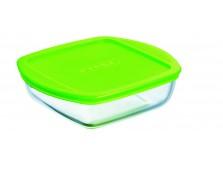 Pyrex 20091 Üvegtál + műanyag tető 1 l