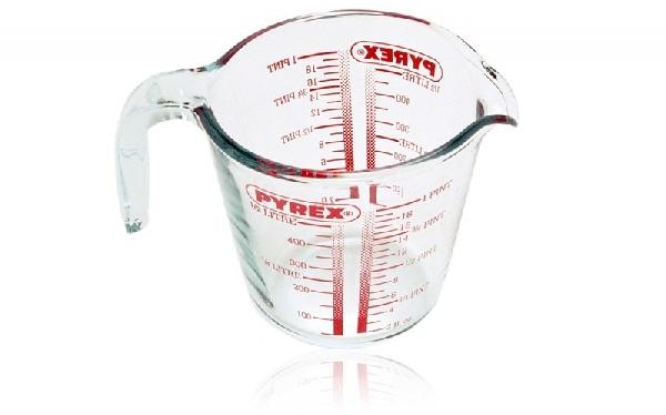 Pyrex 10631 Üveg mérőedény 500 ml