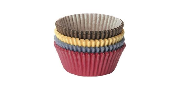 Tescoma 630634 Sütemény-muffin papír színes