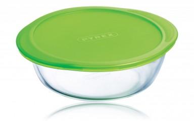 Pyrex 20060 Üvegtál + műanyag tető 1liter