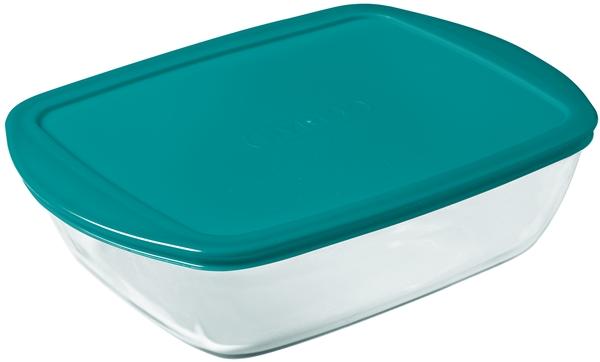 Pyrex 20138 Üvegtál + műanyag tető 2,5 liter