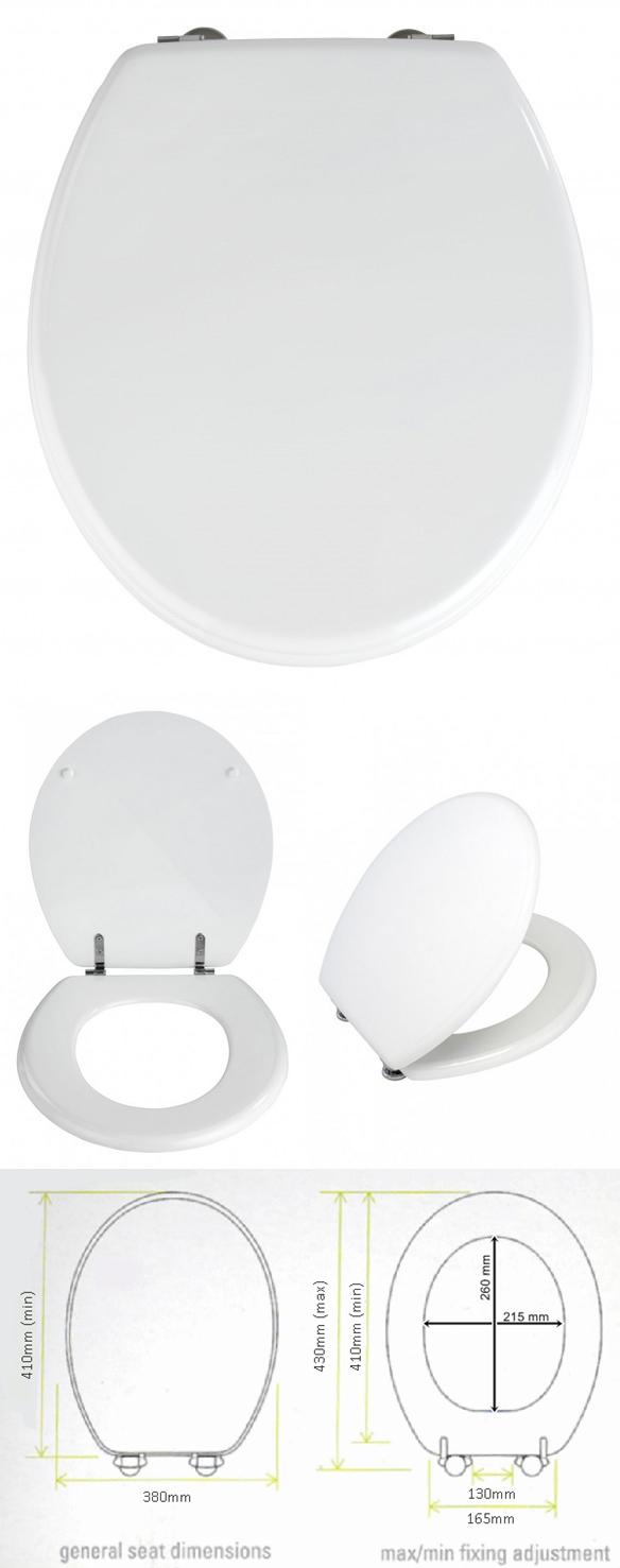 Wenko 152003 WC ülőke, Prima fehér
