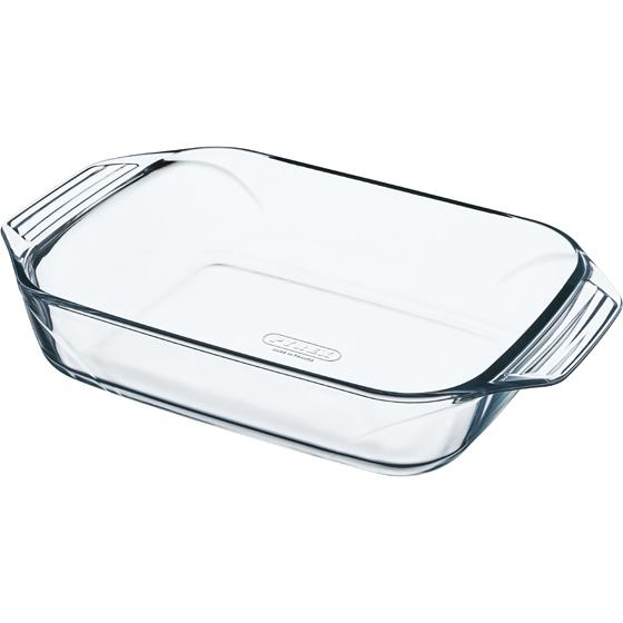 Pyrex 2981 Üveg sütőtál 35 x 23 cm