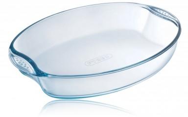 Pyrex 2973 Üveg sütőtál ovál 39 x 27 cm
