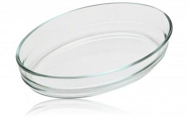 Pyrex 2970 Üveg sütőtál ovál 25 X 17 cm