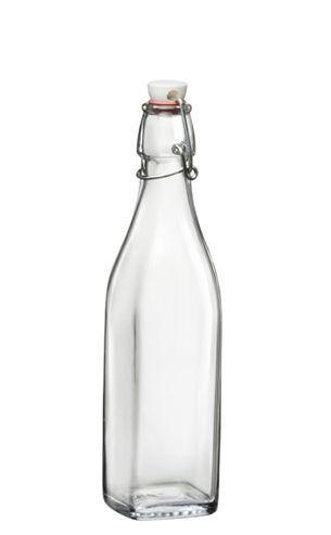 Bormioli Rocco 02827 Csatos üveg 0,5 l Swing