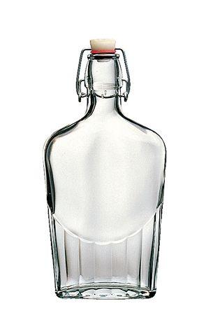Bormioli Rocco 02825 Csatos üveg lapos 0,5 l