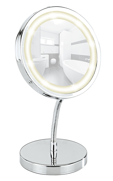 Wenko 365755 kozmetikai tükör Brolo LED vílágítással