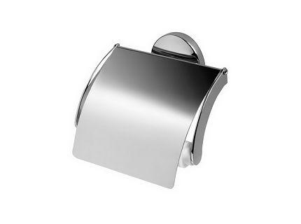Bisk 01425 Chroma WC-papír tartó fedeles