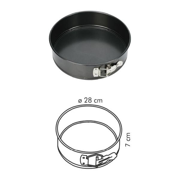 Tescoma 623260 Tortaforma kerek 28 cm