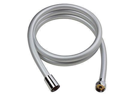 Bisk 05368 zuhanycső Base PVC ezüst, 150 cm