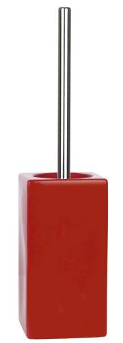 Spirella 10.13648 Quadro WC-kefe piros