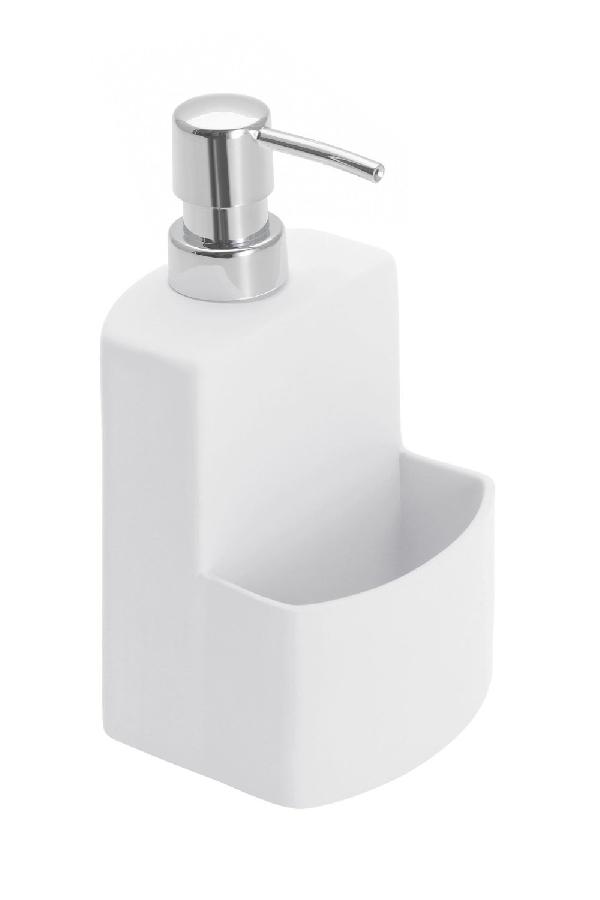 Wenko 439869 mosogatószer adagoló tartóval fehér