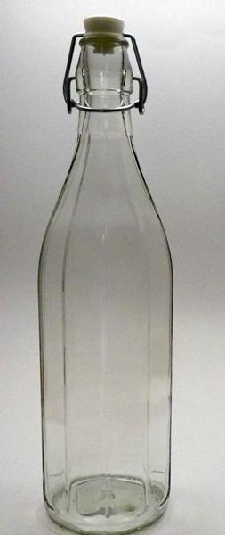 A-Cerve 02818 Csatos üveg bordázott 1 liter
