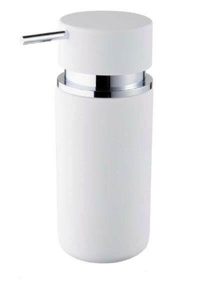 Bisk 06594 Round szappanadagoló, fehér