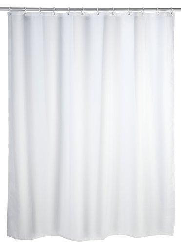 Wenko 191460 Uni zuhanyfüggöny fehér 180x200 cm