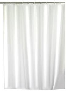 Wenko 191040 Uni zuhanyfüggöny fehér 180x200 cm