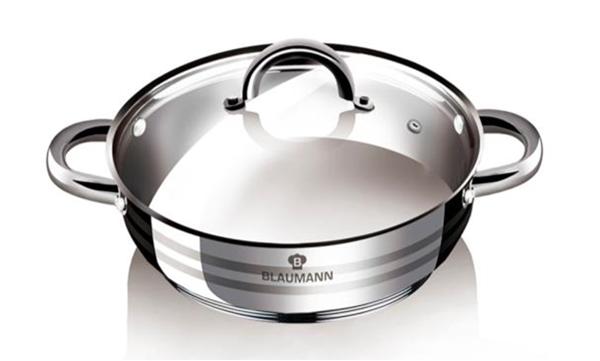 Blaumann BL-1504 Gourmet Line Lábas fedővel 28 cm - </b>RAKTÁRON