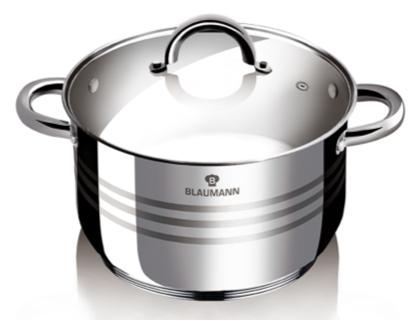 Blaumann BL-1019 Gourmet Line Lábas fedővel 18 cm