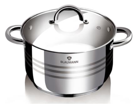 Blaumann BL-1020 Gourmet Line Lábas fedővel 20 cm