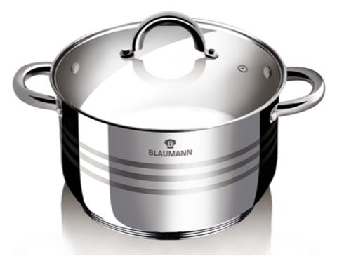 Blaumann BL-1022 Gourmet Line Lábas fedővel 26 cm - </b>RAKTÁRON