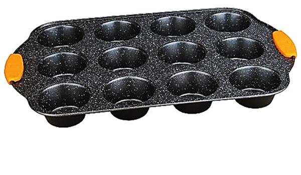 Berlinger Haus BH-1138 Granit Diamond Line Muffin sütő 12 db-os