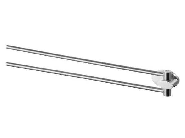 Bisk 03132 Side törölközőtartó lengő dupla