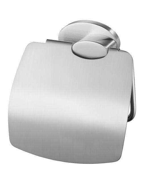 Bisk 03128 Side WC papírtartó fedeles