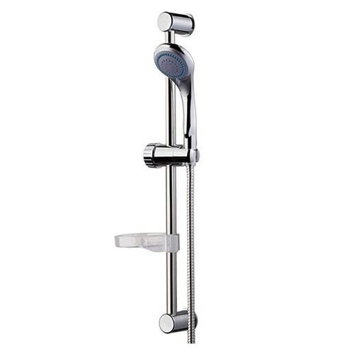 Bisk 05361 Base zuhanyszett 3 funkciós zuhanyfejjel