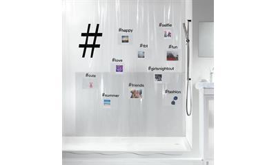 Spirella 10.20150 Hashtag zuhanyfüggöny