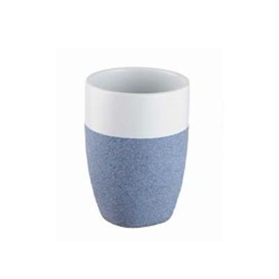 Bisk 06307 Stone pohár kék