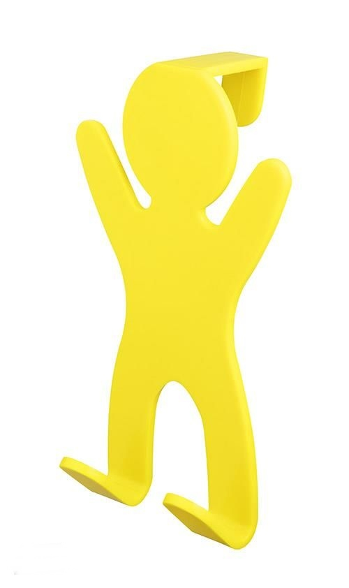 Bisk 06651 City akasztó ajtóra sárga