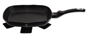 Berlinger Haus Bh-1846 Black Silver Collection grill serpenyő 28 cm