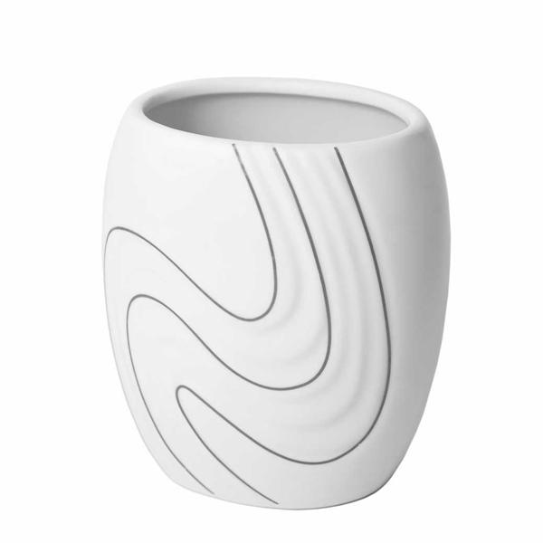 Bisk 05976 Wave pohár fehér