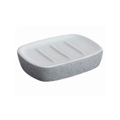 Bisk 06312 Stone szappantartó szürke