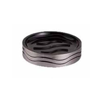 Bisk 06325 Lines szappantartó ezüst