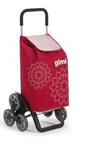 Gimi 392028 Tris bevásárlókocsi Floral red lépcsőjáró
