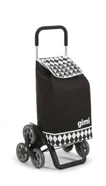 Gimi 392029 Tris bevásárlókocsi opt. black lépcsőjáró