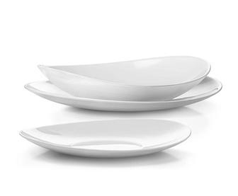 Bormioli Rocco 202051 Prometeo étkészlet 18 db-os fehér